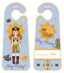 """Fun Activities and Printables – tagged """"Printable Door Hangers"""" – Lottie Dolls Printable Activities For Kids, Free Activities, Free Printables, Pirate Theme, Pirate Party, Tales Of Graces, Doll Toys, Dolls, Pirate Queen"""
