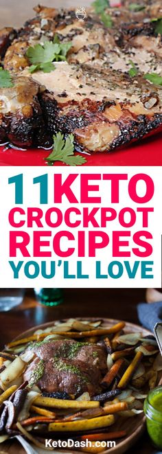 Looking for keto crockpot recipes? These 11 keto crockpot recipes will hit the spot and help keep you in ketosis.