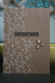 Quick and simple Christmas card