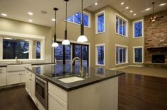 open style 2 - couldn't you just imagine yourself entertaining in this space?