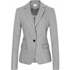 fitted single breasted jackets
