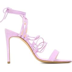Bionda Castana Viola Sandals (2 265 PLN) ❤ liked on Polyvore featuring shoes, sandals, suede sandals, bionda castana shoes, bionda castana, suede shoes and lilac shoes