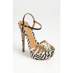 'guta' Sandal ($215) ❤ liked on Polyvore