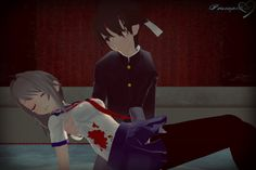 I'm so sorry Ayano-chan...I couldn't protect you.. by PersempreKH on DeviantArt