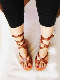 Bridal Sandals, Boho Sandals, Red Sandals, Leather Sandals Flat, Lace Up Sandals, Women Sandals, Gladiator Sandals, Summer Shoes, Summer Sandals