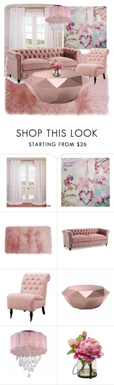 """Royal pastels """" by kavyav-cheery ❤ liked on Polyvore featuring interior, interiors, interior design, home, home decor, interior decorating, EFF, Thro, Frontgate and Home Decorators Collection"