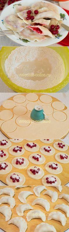 Вареники со смородиной #Вареники #Смородина #Ягоды #Пост #Десерт #Вкусняшка #Рецепты #ВыпечкаОнлайн #Dumplings #Currants #Berries #Post #Dessert #Yummy #Recipes #CakesOnline
