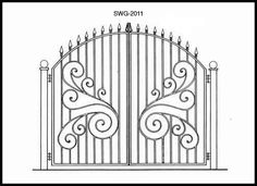 Iron Gate - Design From Historic Record - SWG2011
