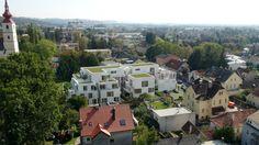 Verkaufsrenderings vom Neubau in der St.Peter Hauptstrasse 79. Drohnenaufnahmen, Aussen_ und Innenrenderings + 360° VR