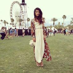bohemian chic at Coachella Music Festival