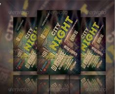 A Cool club flyers & party flyer templates or posters collection. All these Flyer psd templates can be tagged as - best cheap flyers online! Psd Templates, Flyer Template, Cheap Flyers, Club Flyers, Party Flyer, Typography, Letterpress, Letterpress Printing, Fonts