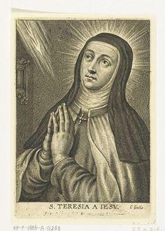 Heilige Teresa, Schelte Adamsz. Bolswert, Peter Paul Rubens, Cornelis Galle (II), 1596 - 1659
