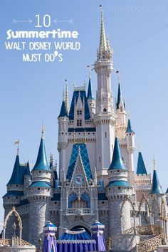 10 things to do during your summertime Walt Disney World vacation Disney World Must Do, Walt Disney World Orlando, Disney World Secrets, Disney World Planning, Walt Disney World Vacations, Disney World Tips And Tricks, Disney Love, Attraction, Best Family Vacations