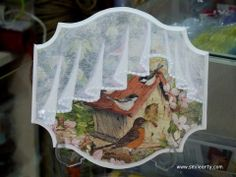 decoupage and drapery painting