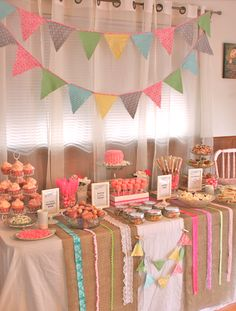 Ribbons and bows birthday.. or bridal shower.. or baby shower.. @Janice Berndsen