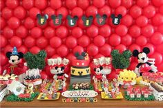 mesa festa do mickey - Google Search
