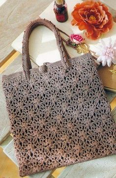 Summer Flower Crochet Bag Pattern