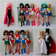 Customized Irwin Sailor Moon Dolls by KatherineAlyce on DeviantArt Sailor Moon Toys, Sailor Moon Manga, Harajuku Fashion, Fashion Dolls, Girl Fashion, Cristal Sailor Moon, Personajes Monster High, Sailor Princess, Bratz Doll