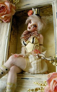Costume inspiration The Fantasy art of Nicole West.   Circus inspired dolls by Nicole West.