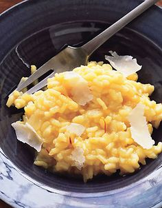 Saffron Risotto from Epicurious.com #myplate