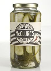 I have been drooling over these in Whole Foods for months and I just picked up a jar. Pickles with a big kick (all in the after taste). As a huge pickle fan, I highly recommend.