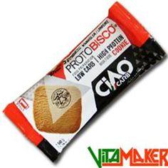 PROTO BISCO HP by CIAO CARB - 50g Nei gusti: Arancia, Cacao, Caffé, Vaniglia-Limone. #Biscotto ad alto livello #proteico.