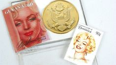 Vintage Marilyn Monroe Bronze Medallion and 2 by ChaseyblueVintage