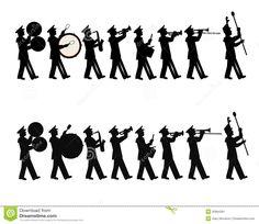 Marching Band Stock Image   Image  35864361