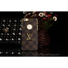 Luxury Real Louis Vuitton iPhone 6 / 6 Plus Leather Wallet Cases  -  How to Become a Celebrity - UK Fashion