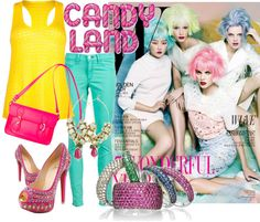 It's Candy Time!    http://ritchastyle.blogspot.in/2012/11/candy-colours.html