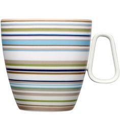 Origo mug 0,4 L, beige, by Iittala.