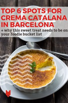 Ready to devour the best crema catalana in Barcelona? Barcelona Food, Barcelona Travel, Spanish Cuisine, Spanish Food, Brulee Recipe, Classic Desserts, Food Shows, Meals For One, Foodie Travel