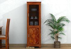 Crockery Unit: Buy Wooden Crockery Cabinet Online Upto OFF Kitchen Wardrobe Design, Kitchen Design, Buy Kitchen, Wooden Kitchen, Types Of Furniture, Online Furniture, Crockery Cabinet, Crockery Units
