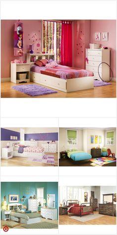 Shop Target for kids Small Room Bedroom, Room Decor Bedroom, Bedroom Ideas, Girl Bedroom Designs, Interior Design Living Room, Kitchen Interior, New Room, Girl Room, Room Inspiration
