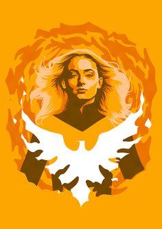 Dark Phoenix by TheArtofLucasSilva on DeviantArt - Kunst Tätowierung Jean Grey Phoenix, Phoenix Art, Dark Phoenix, What Is Marvel, Marvel X, Captain Marvel, X Men, Man Illustration, Bizarre Art