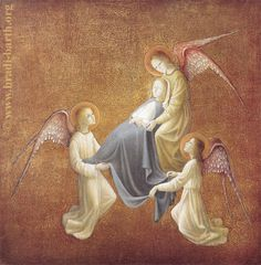Dormition and Assumption of Mary into heaven by Bradi Barth