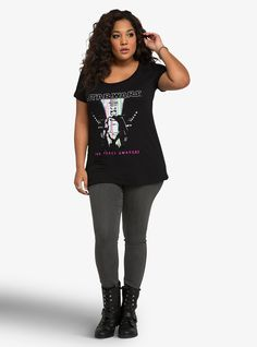 New women's plus size Star Wars The Force Awakens Captain Phasma t-shirt at Torrid ⭐️ Geek Fashion ⭐️ Star Wars Style ⭐️ Geek Chic ⭐️