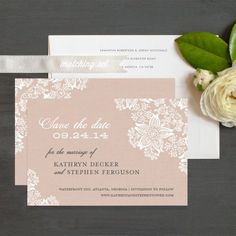 save the date cards old lace | Vintage Lace Save The Date | Save the Date Cards