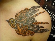 @Jennifer Akins  How cool is that a steam punk sparrow.