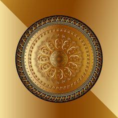 Circumplexical No 3518 by Alan Bennington Metal Screen, Art Prints For Sale, Mandala Art, Versace, Harley Davidson, Backdrops, Mosaic, Decorative Plates, Digital Art