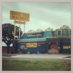 The Magic Time Machine restaurant in San Antonio, TX