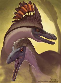 Velociraptor Pair by mirroreyesserval on deviantART