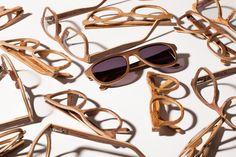 Ochelari de soare din lemn Eyewear, Sunglasses, Fashion, Moda, Eyeglasses, Fashion Styles, Sunnies, Shades, Fashion Illustrations