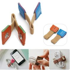 2-Pcs-Earphone-Headphone-Cable-Roller-Cord-Organizer-Wrap-Winder-Line-Tie-Holder