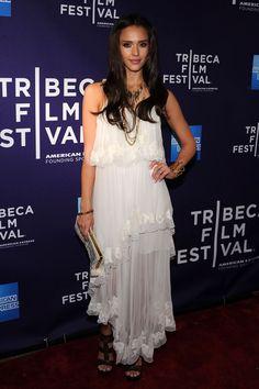 "Jessica Alba Photos - Premiere Of ""The Killer Inside Me"" At The 2010 Tribeca Film Festival - Zimbio"