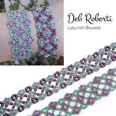 $ Labyrinth Bracelet | Bead-Patterns