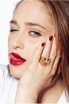 Alison Lou Spring/Summer 2013 Lookbook: Jemima Kirke