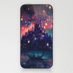 The Lights iPhone & iPod Skin by Alice X. Zhang - $15.00 it's perfect. I might just have to get it