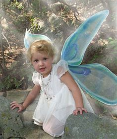Make your own fairy wings. Same technique would likely apply for making butterflies (on a smaller scale).