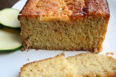Lemon Coconut Zucchini Bread (Dairy, Gluten and Refined Sugar Free)